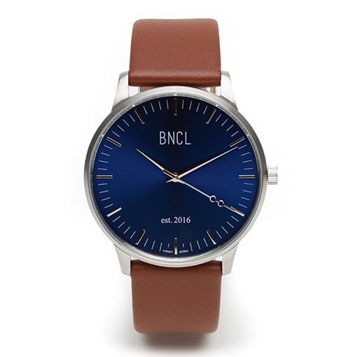 Argent - Bleu : Marron - Argent métal