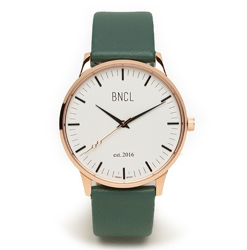 Or rose - Blanc - Vert